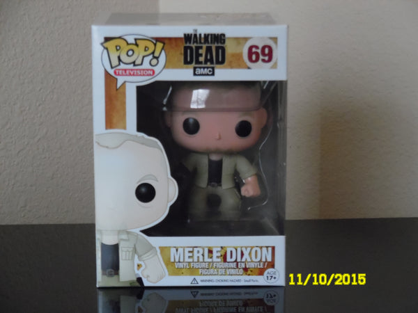 The Walking Dead Merle Dixon  # 69  !!! TV Series 3 / Funko Pop !!!