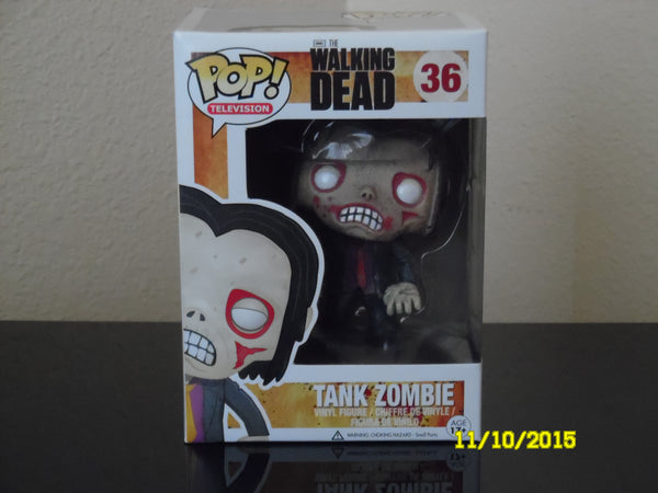 The Walking Dead Tank Zombie  #36  Retired TV Series 2 / Only 2 available. Order now!