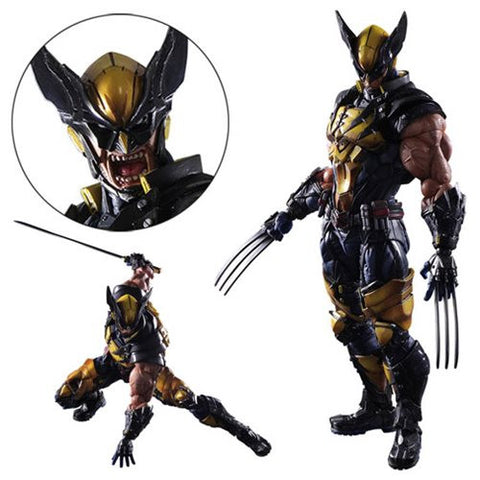 Marvel Universe Wolverine Variant Play Arts Kai Action Figure Pre-Order Coming in June   2017