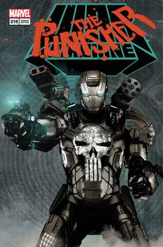 Punisher  #218  Bradstreet  Lenticular  War Machine Homage CVR * NM *