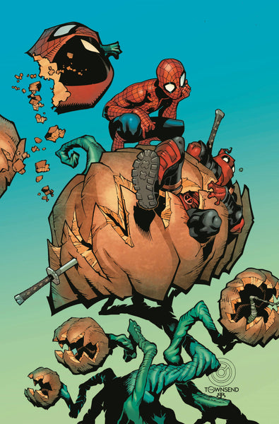 Spider-Man Deadpool  #24 Leg  # 1 NM
