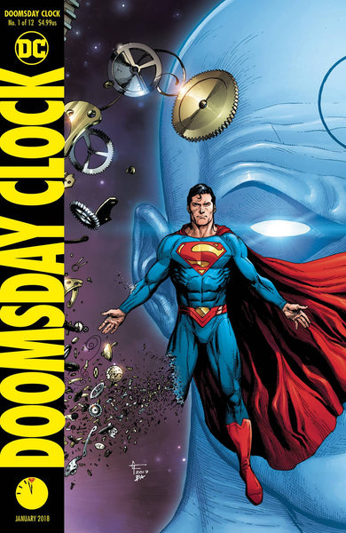 Doomsday Clock # 1 Frank Variant * NM *
