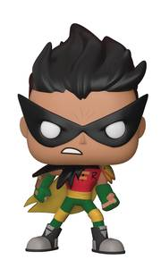 POP Teen  Titans  Go Night Begins To Shine Robin # 606 . *  NIB  *