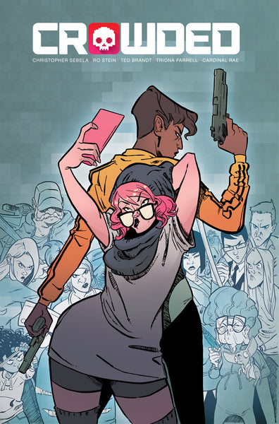 Crowded #1 CVR A* NM* !!!!  Pre-Order Aug-15-18  Hot !!!! Movie...