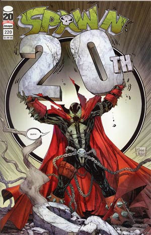 Spawn #220 Cover A  Todd McFarlane Cover  *NM*  (2012)