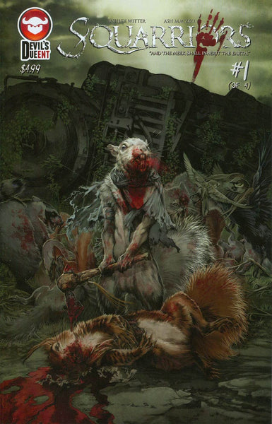 Squarriors  #1 First Print Regular Cover NM  IN Stock !!!!!