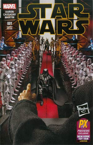 Star Wars Vol 4 #1 Cover L Variant Hasbro Previews Exclusive New York Toy Fair Cover  !!!