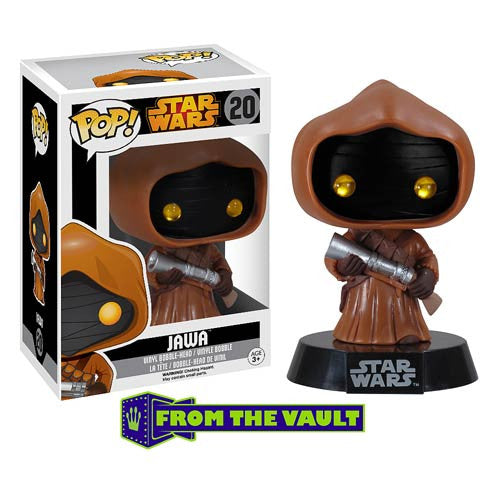 Star Wars Jawa Pop ! Vinyl Bobble Head  * Buy  Now * ..