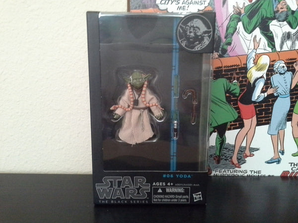 Star Wars Black Series 6-Inch Yoda Action Figure  Blue Box   * In Stock *