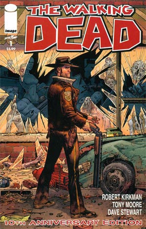 The Walking Dead #1 10th Anniversary Edition Image Comics NM