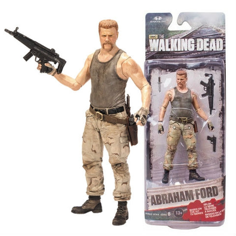 The Walking Dead Abraham Series 6 Action Figure   In Stock  NIB !!!!