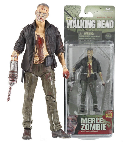The Walking Dead Merle series 5 Action Figure   In Stock   NIB !!!!