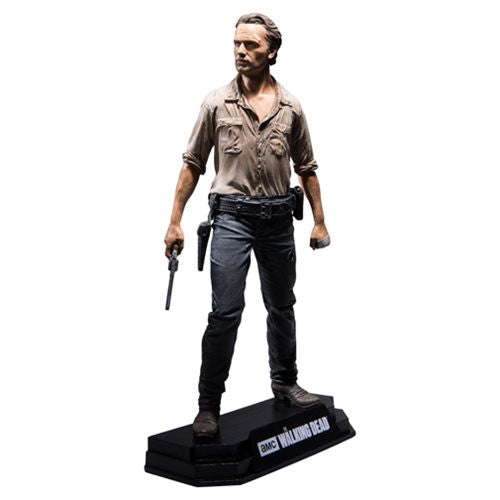 Walking Dead Rick Grimes  7-Inch Color Tops Red Wave  # 1 Action Figure  * NIB *