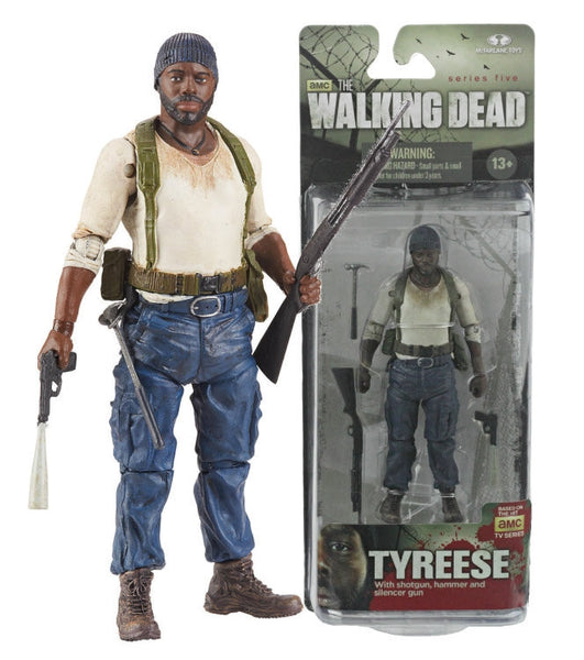 The Walking Dead Tyreese series 5 Action Figure   In Stock   NIB !!!!