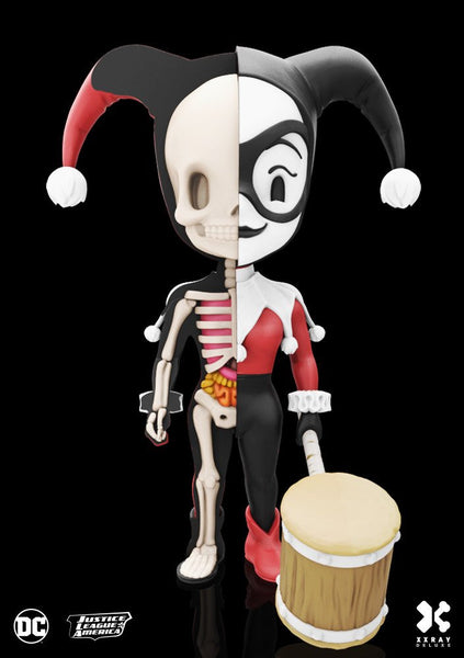 Harley Quinn  XXRAY 4-Inch  Deluxe Vinyl Figure. Out Of STOCK  !!!!!