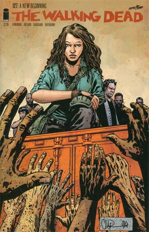 The Walking Dead # 127  (2014)   * In Stock *  Preview Outcast