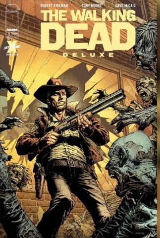 WALKING DEAD DLX #1 CVR A FINCH & MCCAIG (MR)    1st Print  NM !! Out of Stock !