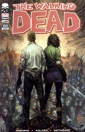 The Walking Dead # 100  1st  PTG    NM /  DEATH OF GLENN ! 1st NEGAN  Something To Fear AMC