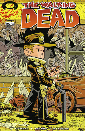 The Walking Dead # 103  Variant Chris Giarrusso Cover   * In Stock *