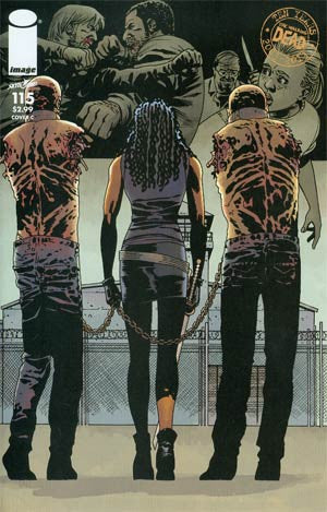The Walking Dead #115 Cover C Connecting Cover Year  2 (10/09/2013)   * In Stock *