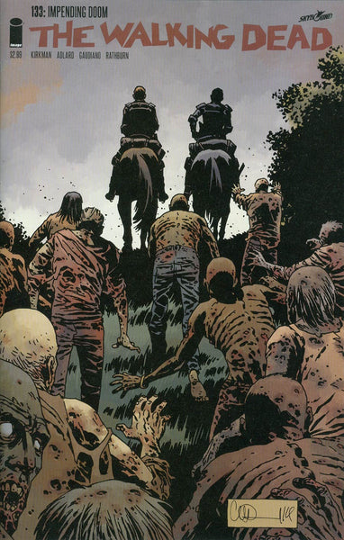 Walking Dead #133 Key Issue!! First Appearance Of Lydia NM+