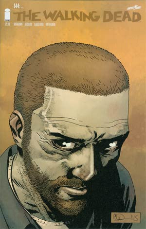The Walking Dead # 144 OMG !!!!   (  EZEKIEL )