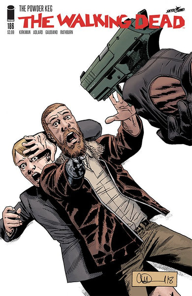 The Walking Dead #186 Cover A Coming in Dec !!