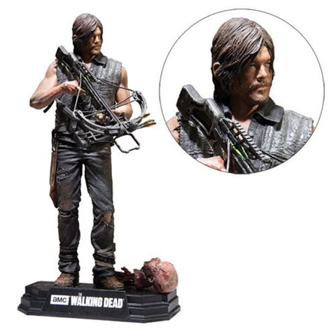 Walking Dead Daryl Dixon 7-Inch Color Tops Red Wave # 6 Action Figure    *NIB *