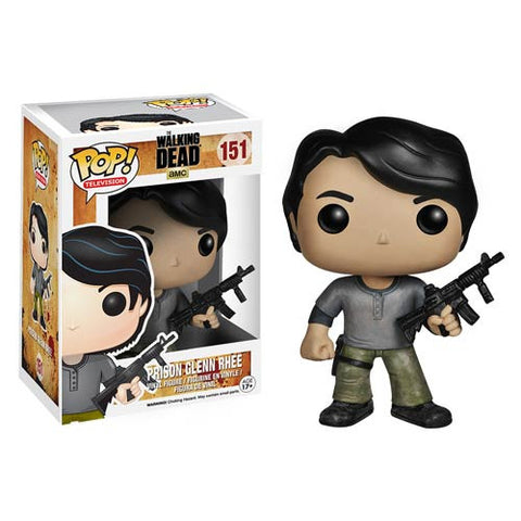 The Walking Dead Prison Glenn Pop! Vinyl Figure  *  NIB *