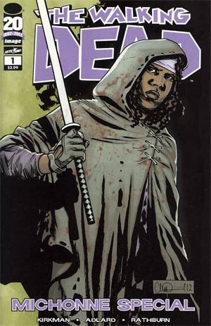 The Walking Dead Michonne Special  # 1  Regular Cover NM