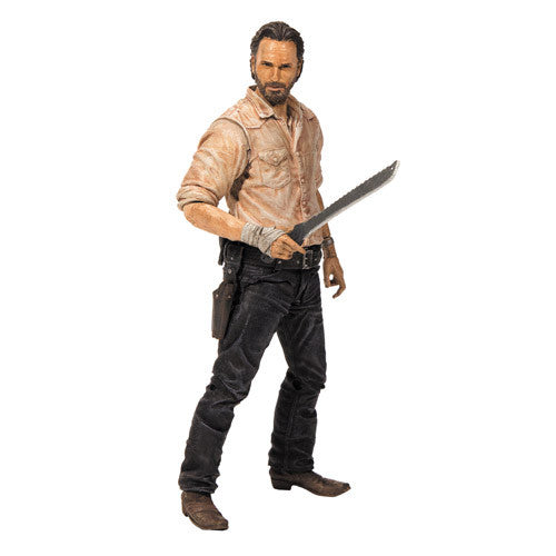 The Walking Dead TV Series 6 Rick Grimes Action Figure !!!!