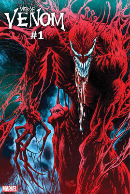 Web Of Venom Carnage Born #1 Cover A Regular Kyle Hotz Cover.!!