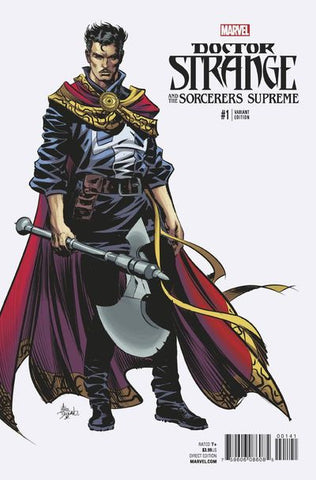 Doctor Strange Sorcerers Supreme #1 (Deodato Teaser Variant Cover Edition) *NM* !!!! Pre-Order Coming 10/26/16