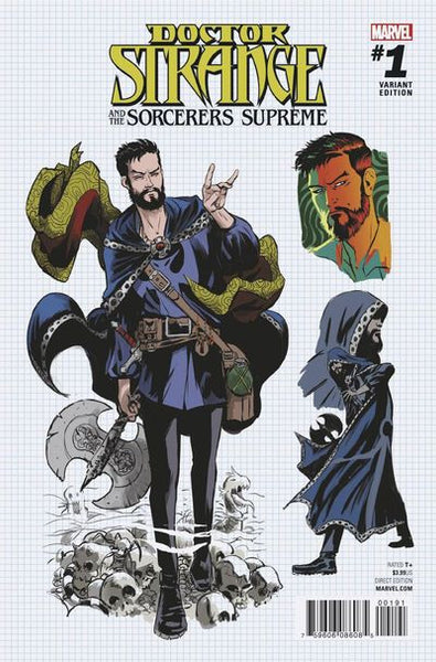 Doctor Strange Sorcerers Supreme #1 (Rodriguez Design Variant Cover Edition) *NM* !!!! Pre-Order Coming 10/26/16