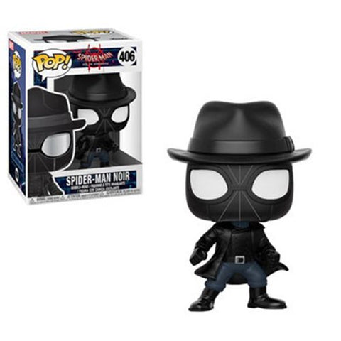 Spider-Man into the Spider-Verse Spider-Man Noir Pop! Vinyl Figure #406.