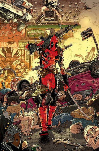 Deadpool # 7  Regular Cover  Tony Moore  !!!