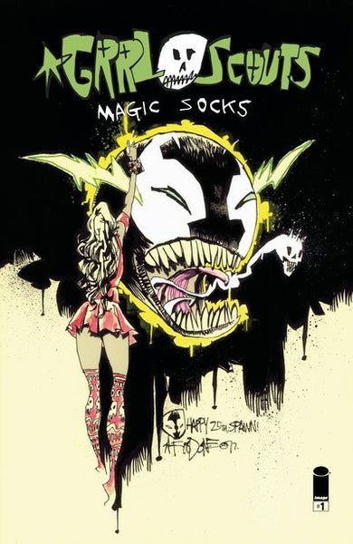 Grrl Scouts Magic Socks #1 (Cover C - Spawn Month Variant Cover Edition Pre-Order 05-17-17
