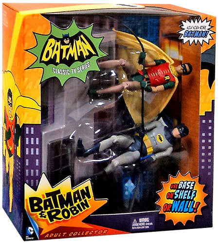 Mattel Toys TV Moment 1966 TV Series Batman & Robin Action Figure NIB !!!