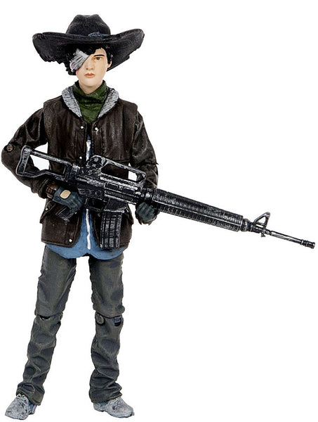 The Walking Dead Comic  Book Series 4 Carl Grimes Figure 2015 Mcfarlane - New, Sealed