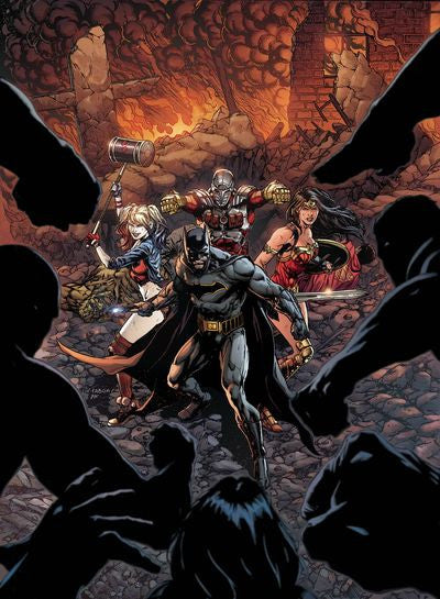 Justice League Suicide Squad #1 (of 6) Pre-Order Coming Dec-21-2016