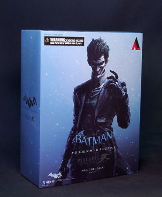 Square Enix  Batman Arkham Origins Joker Play Art Kai Action Figure NIB  !!!! NIB