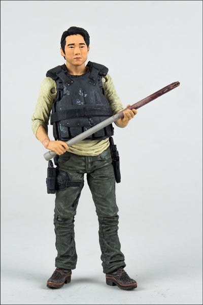 McFarlane Walking Dead  TV Series 5  Glenn Action Figure NIB !!!!