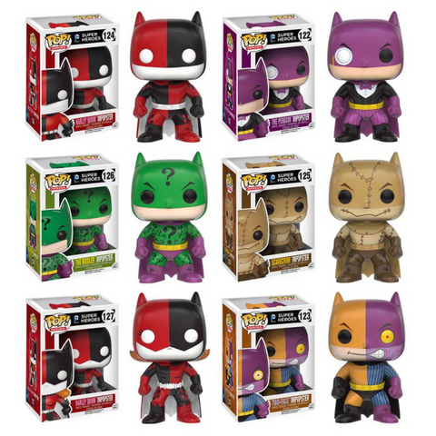 Batman Impopster Funko Pops All 7  ! Vinyl Figure * Pre-Order Coming in Nov-2016*