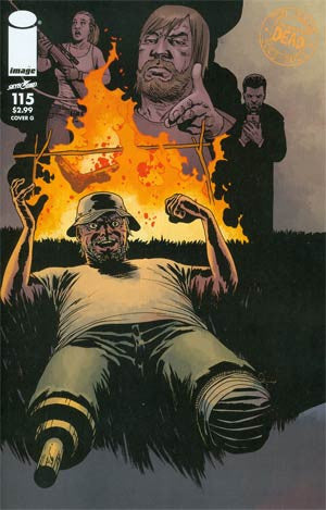 The Walking Dead #115 Cover G Connecting Cover Year  6 (10/09/2013)   * In Stock *