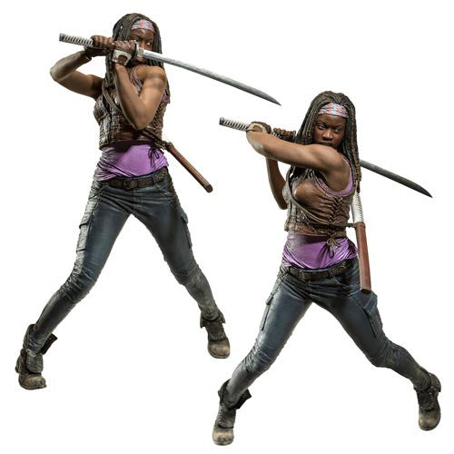 The Walking Dead Michonne 10-Inch Deluxe Action Figure * In Stock  *