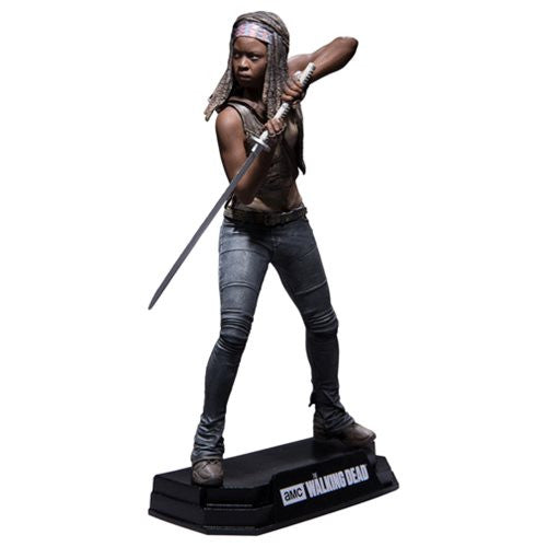 Walking Dead Michonne  7-Inch Color Tops Red Wave  # 2 Action Figure  * NIB *