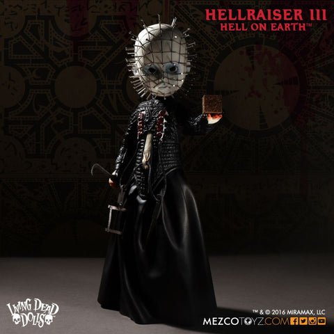 "Hellraiser III: Hell on Earth Pinhead10"" Doll:  NIB  Buy Now for Halloween !!!!!"