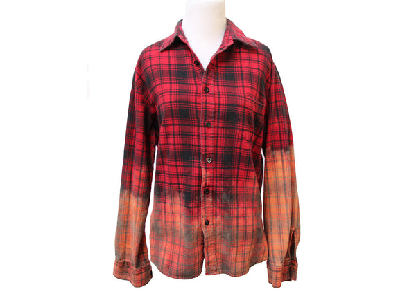 Mystery Bleached Flannel Shirt