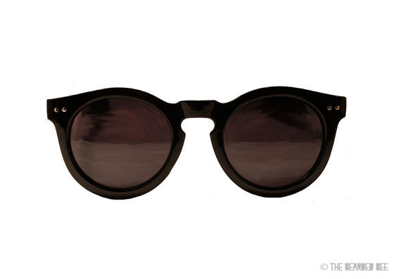 Retro Wayfarer Oversized Sunglasses