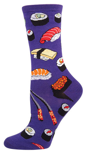 Purple Sushi Socks
